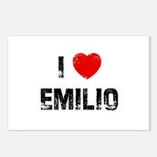 I * Emilio Postcards (Package of 8)
