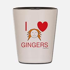 ginger love Shot Glass