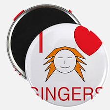 ginger love Magnet