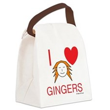 ginger love Canvas Lunch Bag