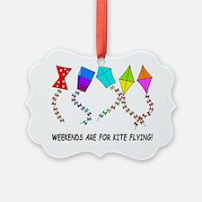 kite flying weekends Ornament