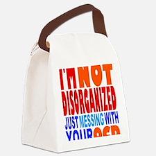 Not Disorganized OCD Canvas Lunch Bag