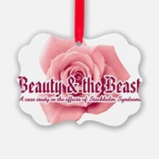 Beauty  the Beast Ornament