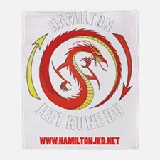 Hamilton jeet Kune Do Throw Blanket