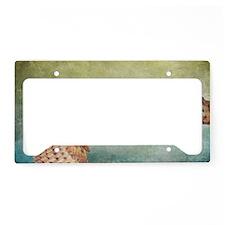 Barn Owl License Plate Holder