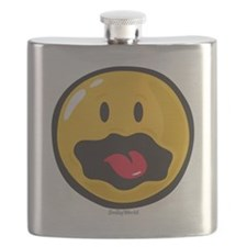 scared smiley Flask