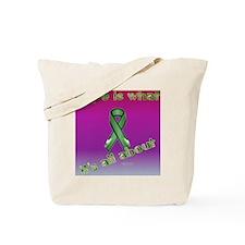 KidneyCancerDove_pillow Tote Bag