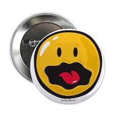 "scared smiley 2.25"" Button"