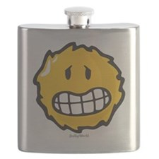 frazzled smiley Flask
