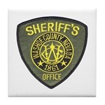 Washoe County Sheriff Tile Coaster