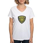Washoe County Sheriff Women's V-Neck T-Shirt
