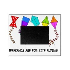 kite flying weekends Picture Frame