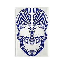 Blue Face Rectangle Magnet