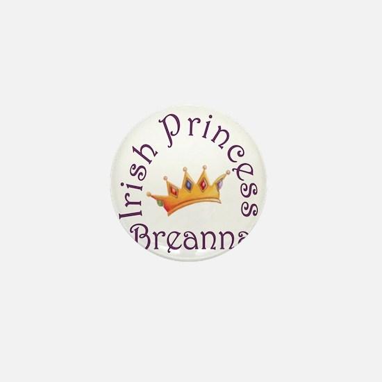 Irish Princess Breanna Mini Button