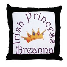 Irish Princess Breanna Throw Pillow