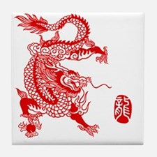 Asian Dragon Tile Coaster