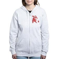 Asian Dragon Zip Hoody