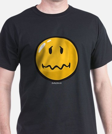 Troubled smiley T-Shirt