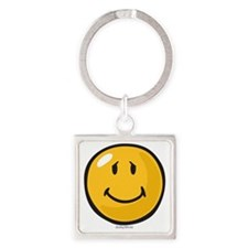 brave face Square Keychain