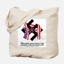 Cute Anti american Tote Bag