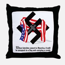 Cute Fascism Throw Pillow