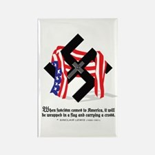 Cute Anti war quotes Rectangle Magnet