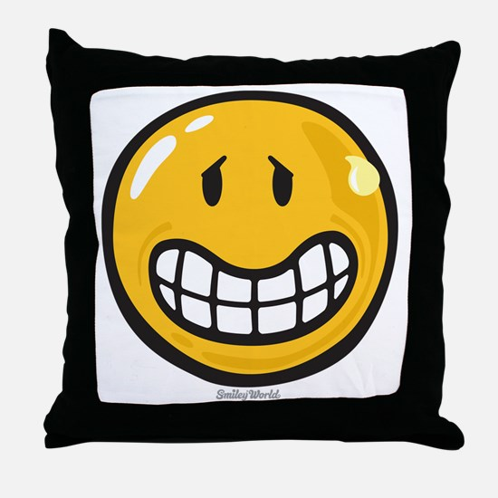 Nervousness Throw Pillow