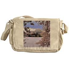Thomas Jefferson Memorial 3 square Messenger Bag