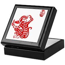 Asian Monkey Keepsake Box