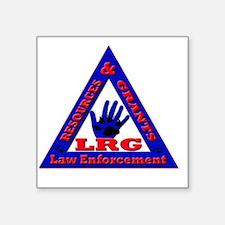 "LRG K9 Square Sticker 3"" x 3"""