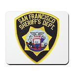 San Francisco Sheriff Mousepad