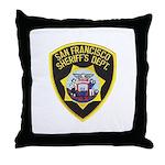 San Francisco Sheriff Throw Pillow