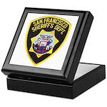 San Francisco Sheriff Keepsake Box