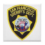 San Francisco Sheriff Tile Coaster