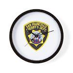 San Francisco Sheriff Wall Clock