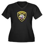 San Francisco Sheriff Women's Plus Size V-Neck Dar