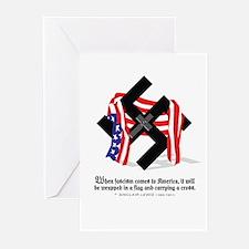 Unique Fascism Greeting Cards (Pk of 10)