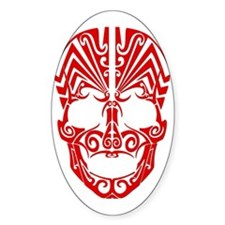 Red Skull Decal