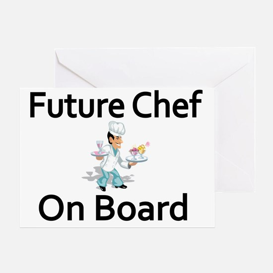 Future Chef on Board Greeting Card