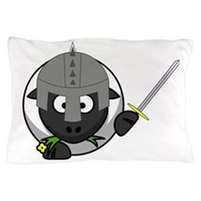Knight Sheep Pillow Case