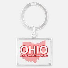 Ohio Landscape Keychain