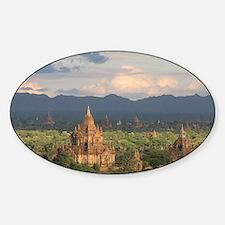 Bagan city of pagodas 1 Decal