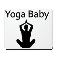 Yoga Baby Mousepad