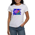 Cartoon Pirahna Women's T-Shirt