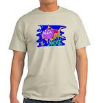 Cartoon Pirahna Light T-Shirt