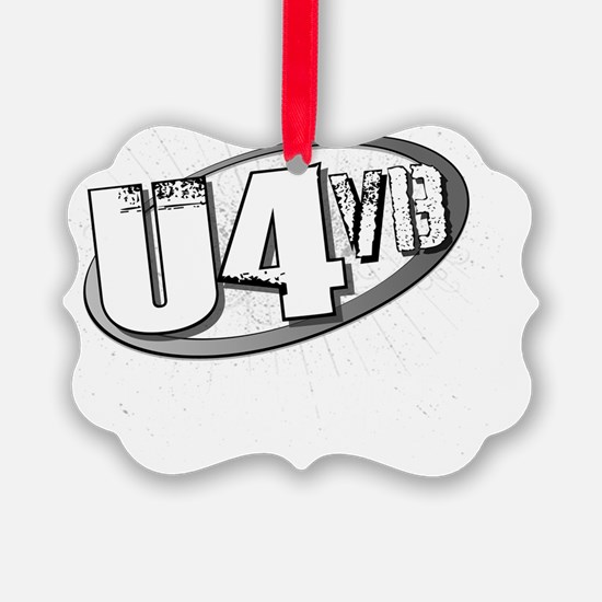 The Uptown 4 Official Logo Ornament