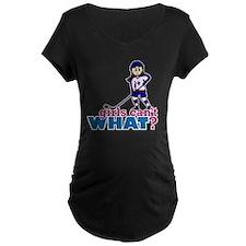 Girl Hockey Player T-Shirt