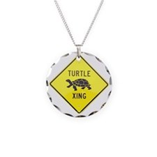 Turtle Crossing Necklace