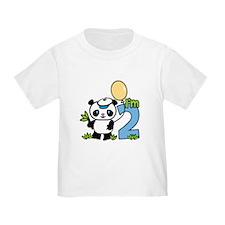 Lil' Panda Boy 2nd Birthday T