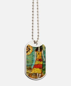 iPhone 5 On My Way Home by Janelle Nichol Dog Tags